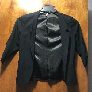 Frenchi small 3/4 sleeve blazer